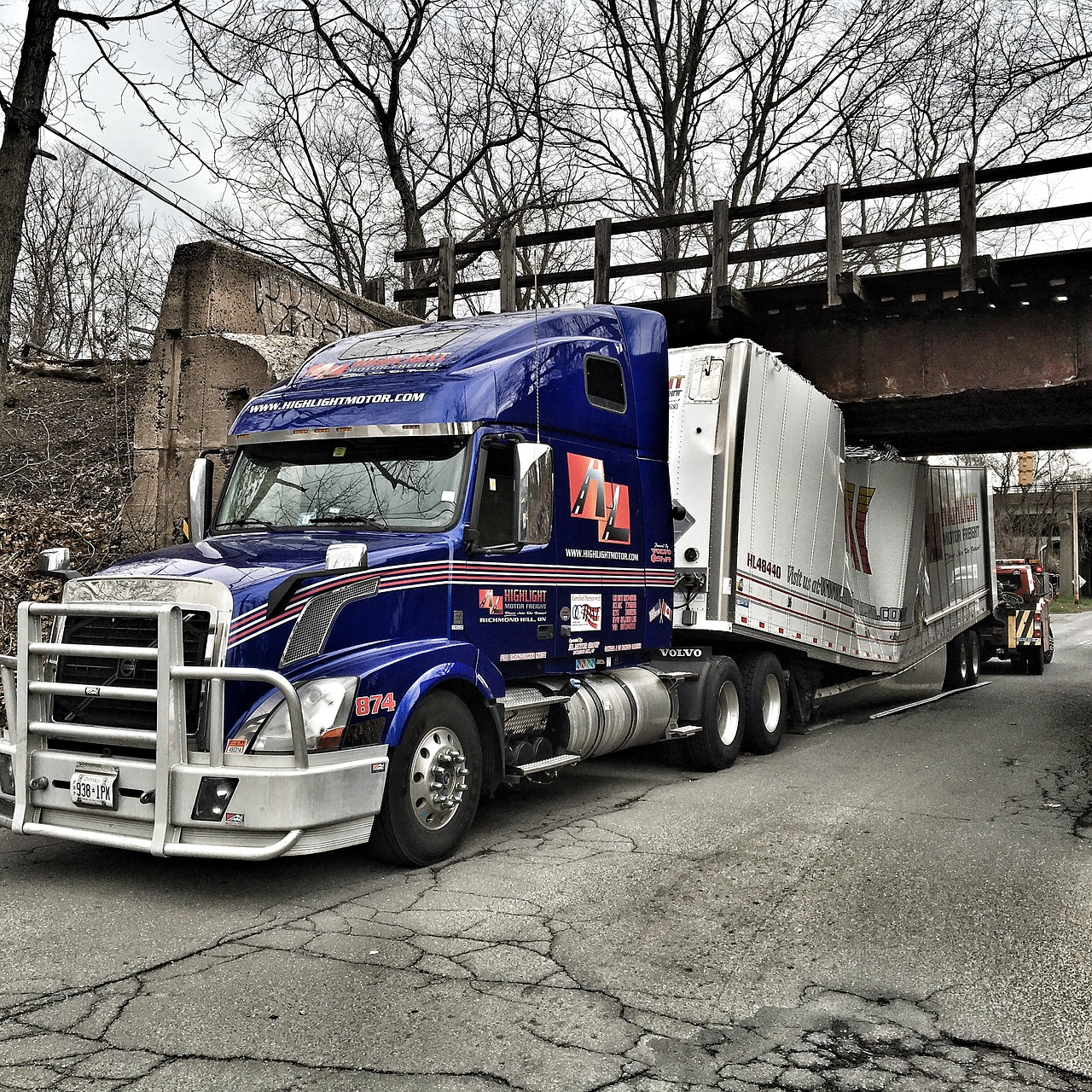 Truck Height Restrictions and Bridge Clearance + Permit